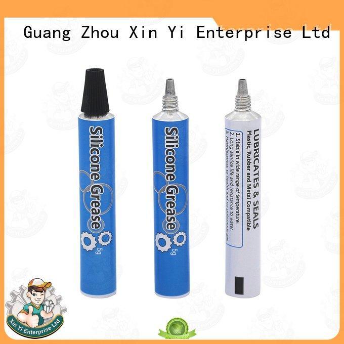 empty toothpaste XinYi aluminum rectangular tubing