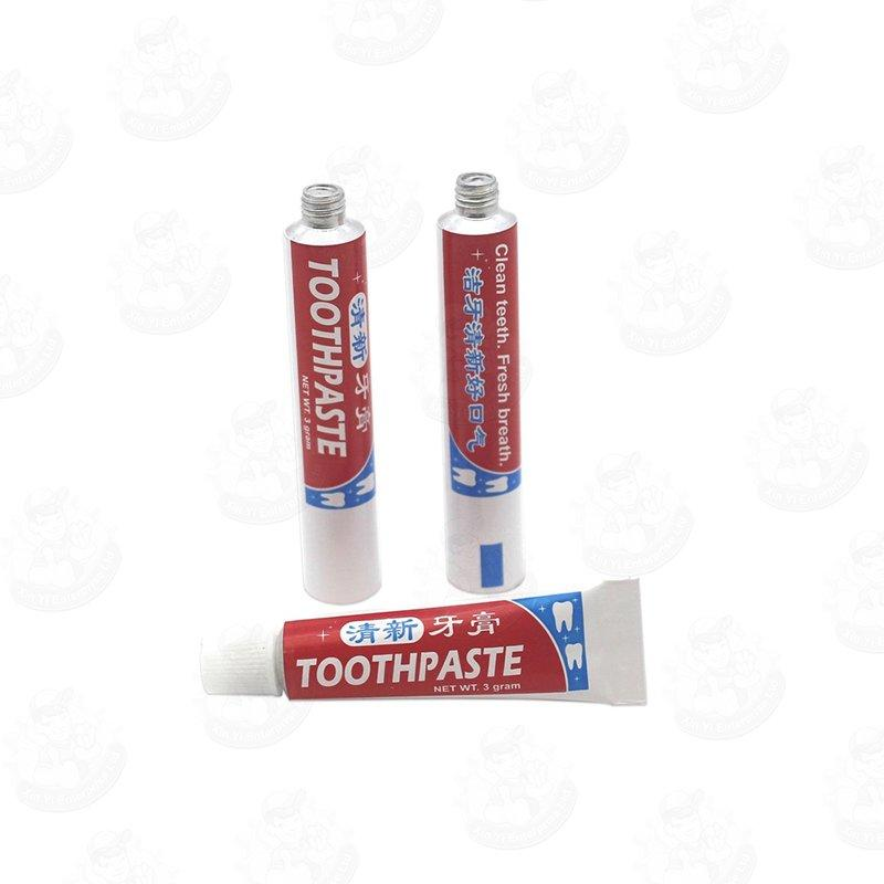 Empty Toothpaste tube / Small Aluminum Squeeze Tube