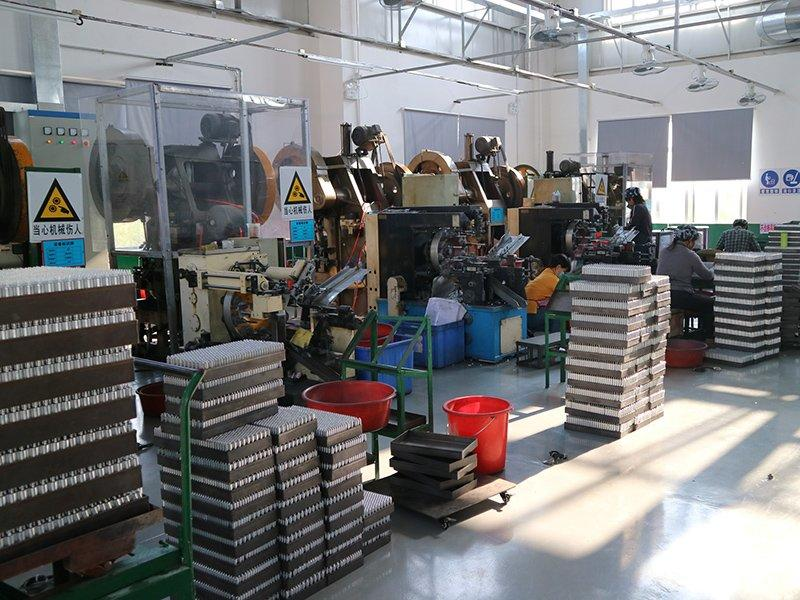 Production lines for aluminum tube extrusion