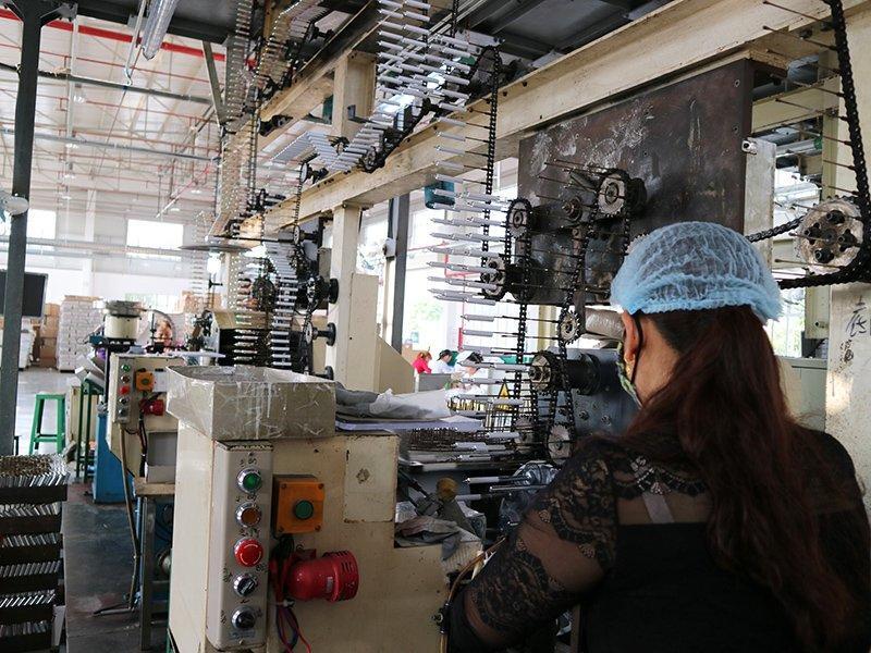 Aluminum tube printing production line