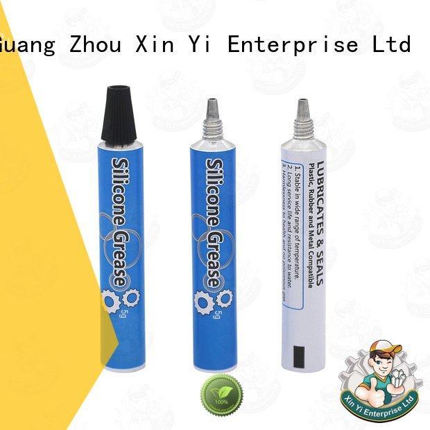 aluminum rectangular tubing empty XinYi Brand tube packaging
