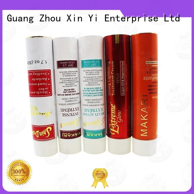 XinYi lotion metal squeeze tubes for cosmetics supplier for body lotion