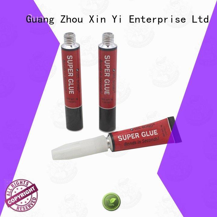 OEM aluminium tube 5ml super silicone gel tube