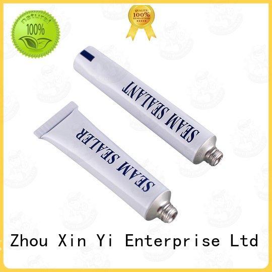 silicone gel tube nail squeeze aluminium tube XinYi Brand