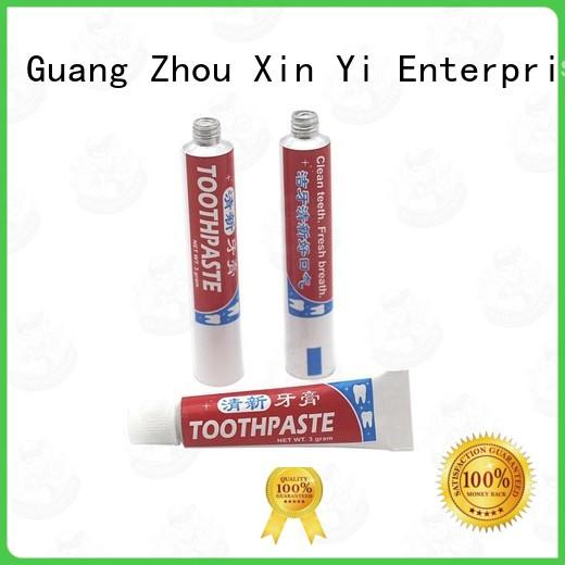 tube metal toothpaste for toiletry industry XinYi