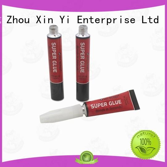 XinYi aluminum tube of glue wholesale for cosmetics industry